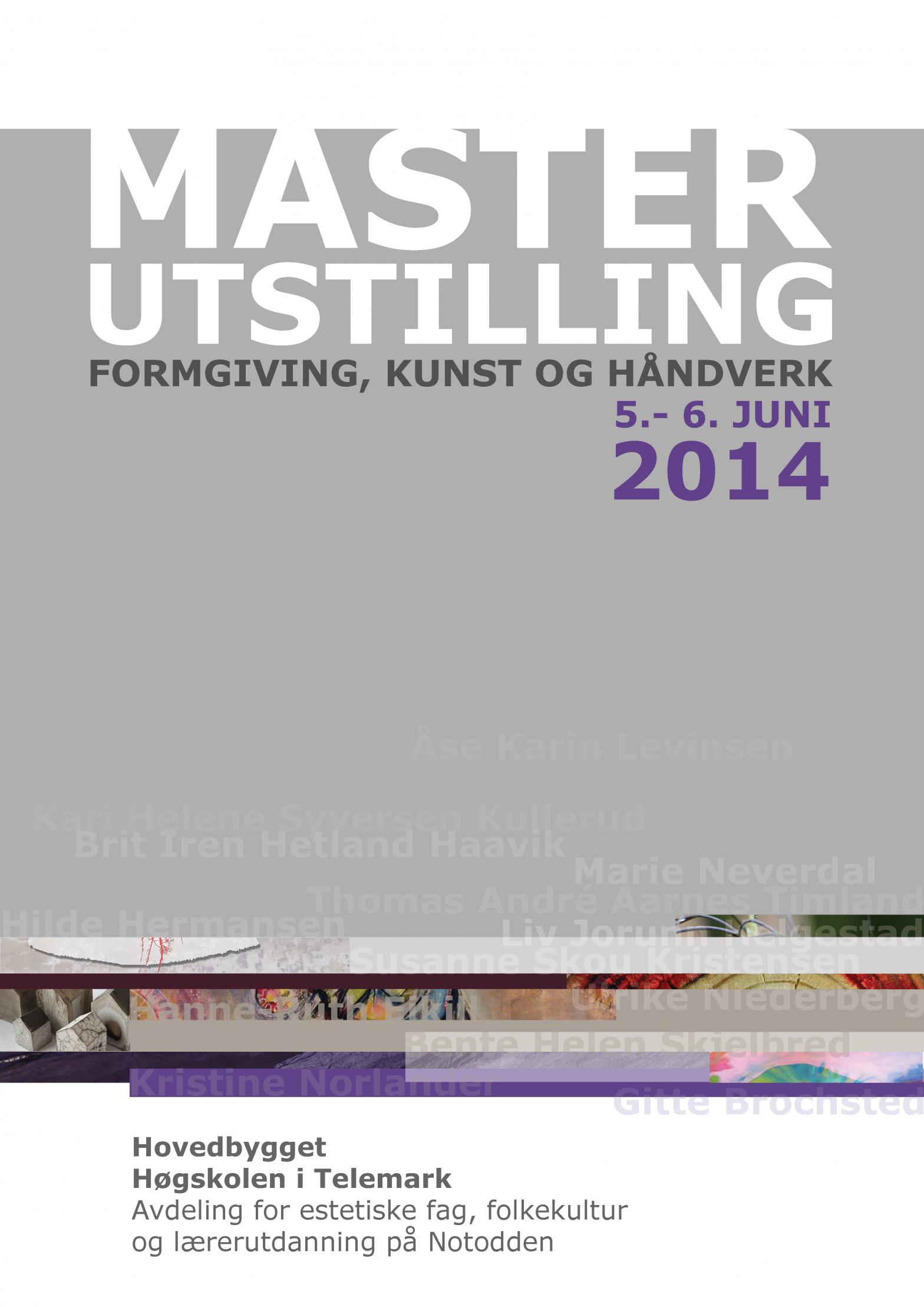 Masterutstilling 2014