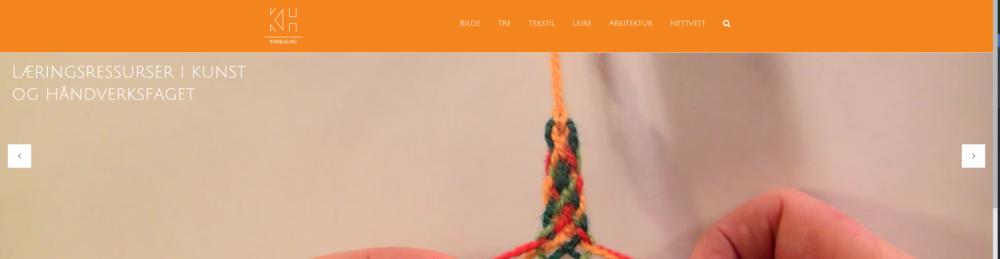 Multimodal læringsressurs i kunst og håndverk: Fagdidaktikk for aktiv læring