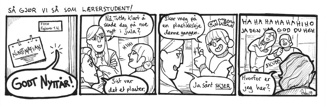 """SÅ GJØR VI SÅ SOM """"LÆRERSTUDENT!"""""""